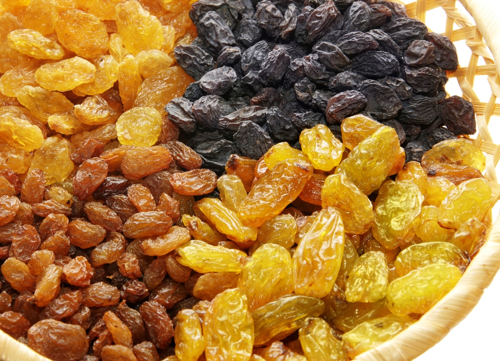 Raisin health benefits