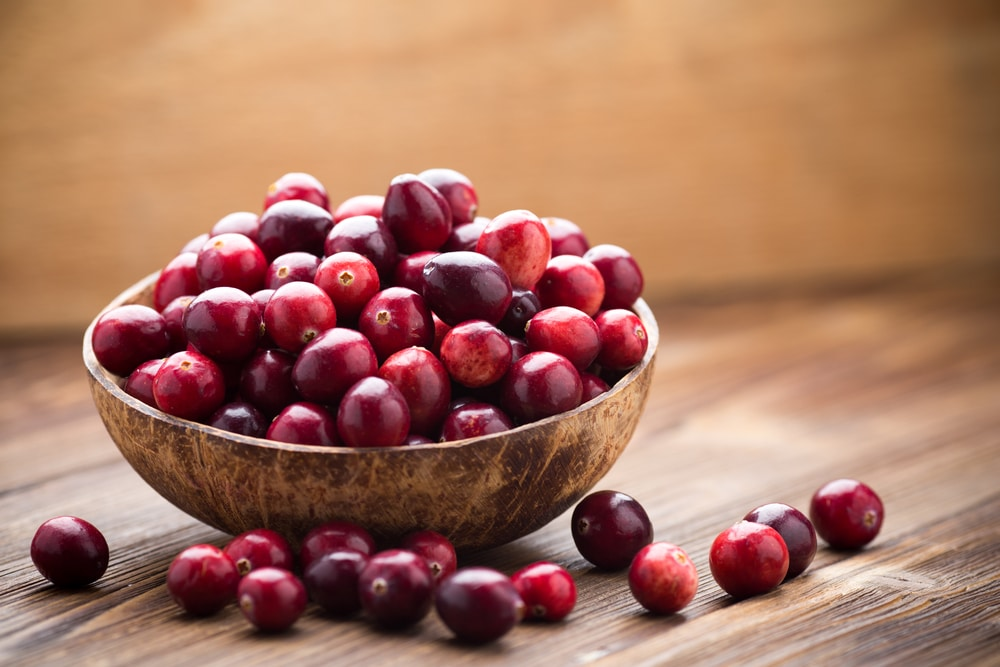 Cranberries health benefits