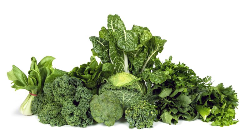 11 Health Benefits of Green Leafy Vegetables - Natural ...